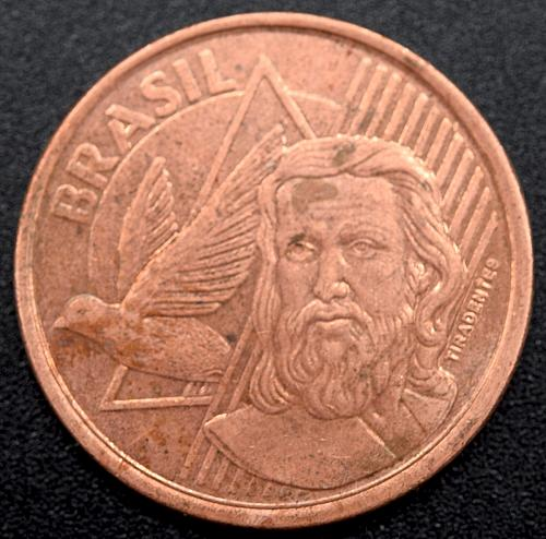 2008 Brazilian 5 Centavos