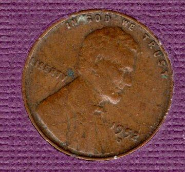 1952 d Lincoln Wheat Penny #4