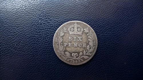 Great Britain. 1893  6 Pence