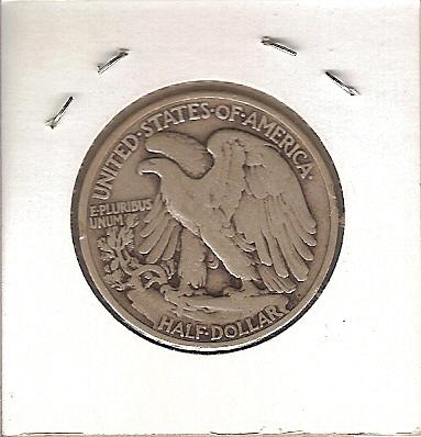 1939 Walking Liberty Half