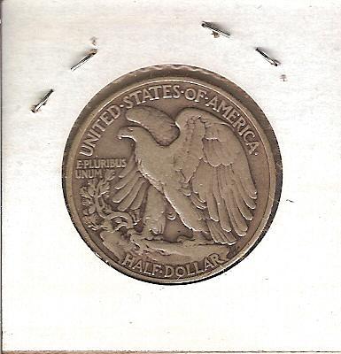 1940 Walking Liberty Half