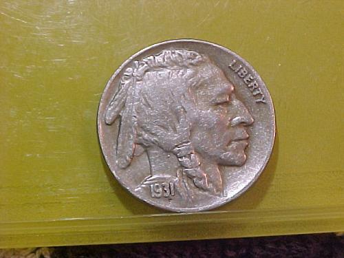 1931 S BUFFALO NICKEL       aa68