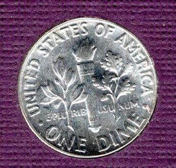 1959p BU Roosevelt Dime - #3