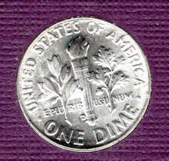 1958 D Roosevelt Dimes -#3