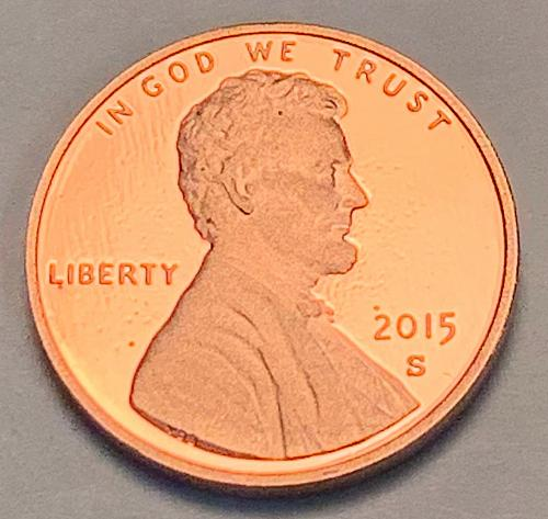 2015-S Proof Lincoln Shield Cent [LC 105]