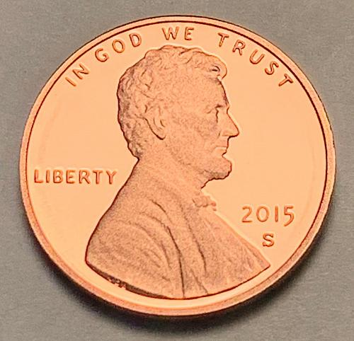 2015-S Proof Lincoln Shield Cent [LC 107]