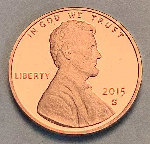 2015-S Proof Lincoln Shield Cent [LC 110]