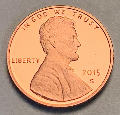 2015-S Proof Lincoln Shield Cent [LC 113]