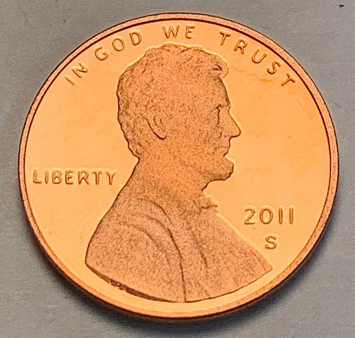 2011-S Proof Lincoln Shield Cent [LC 115]