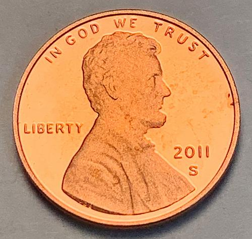 2011-S Proof Lincoln Shield Cent [LC 119]