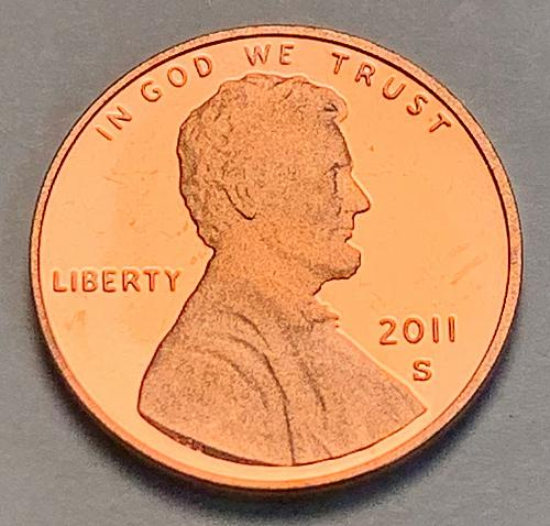 2011-S Proof Lincoln Shield Cent [LC 123]