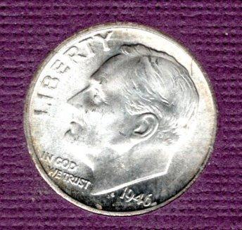 1946s Proof Roosevelt Dime -#2