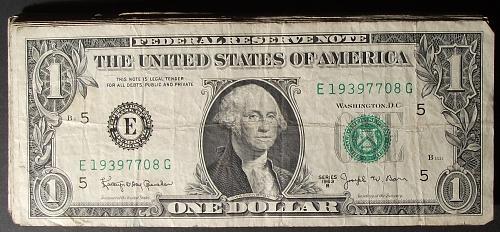 """Fifty (50) 1963B """"Barr"""" $1 FRN's #3"""