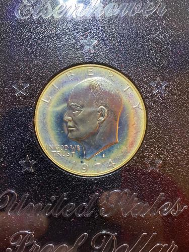 1974 Brown Ike Silver Proof