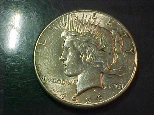 1926 PEACE DOLLAR      aa69