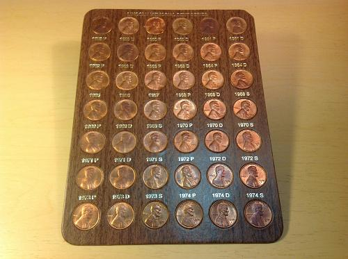 Lincoln Memorial Cent Series/Collection