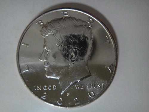 2020-P Kennedy Half Dollar MS-65 (GEM)