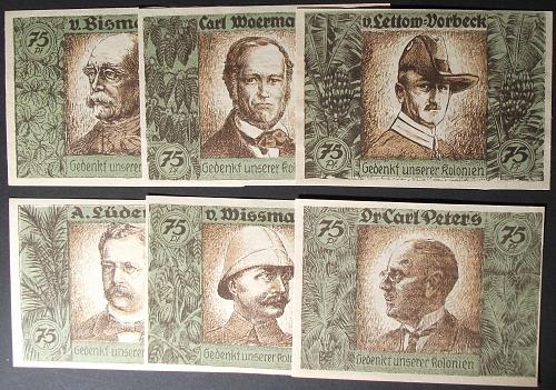 1923 Luderitz Colonial Africa Complete Set