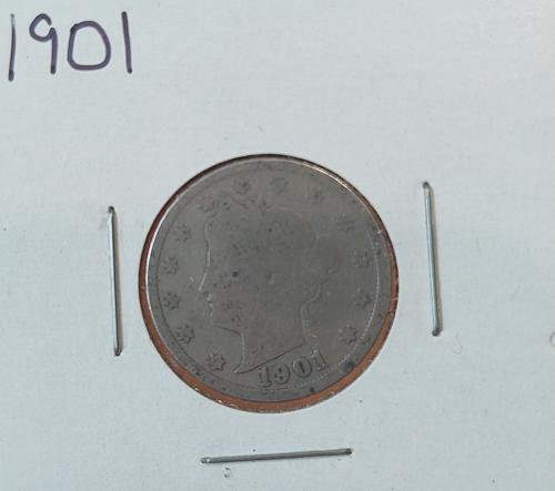 1901 Liberty Nickel