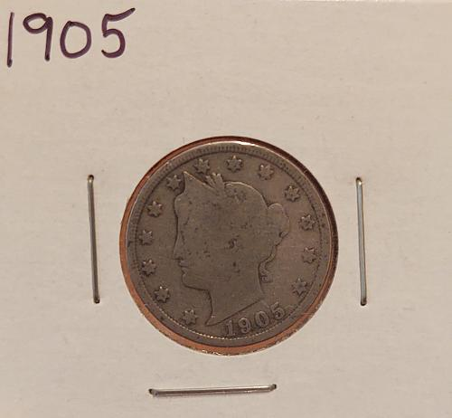 1905 Liberty Nickel