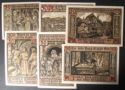 1921 Wartburg Complete Set