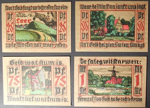 1921 Ostfriesland Complete Set