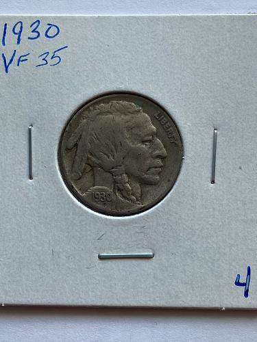 1930 Buffalo Nickel #4