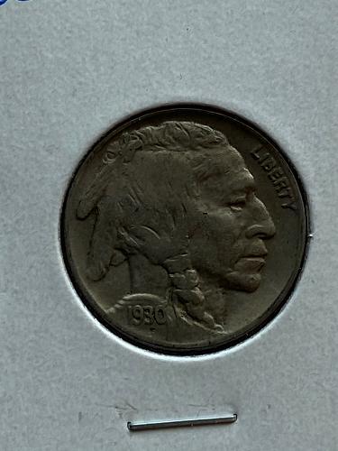 1930 Buffalo Nickel #6