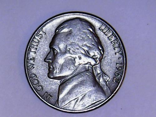 1962 D Jefferson Nickel. See Pictures