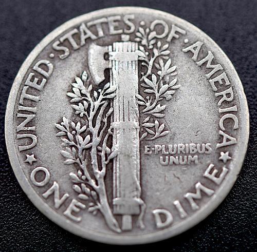 1944 Mercury Dimes Winged Liberty Silver Dime V1P3R1