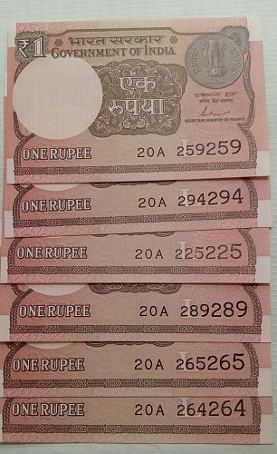 India  Un-Circulated Repeat Nos...6. notes