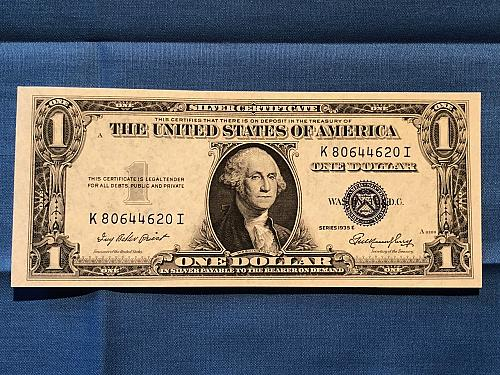 Silver Certificate U.S. Series 1935E