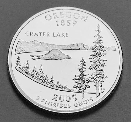 2005-S Silver Proof Quarter: 50 States- Oregon [BSWQ 305]