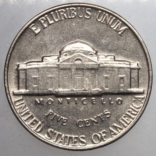 1962 P Jefferson Nickel#9  Double Struck Obverse as shown.