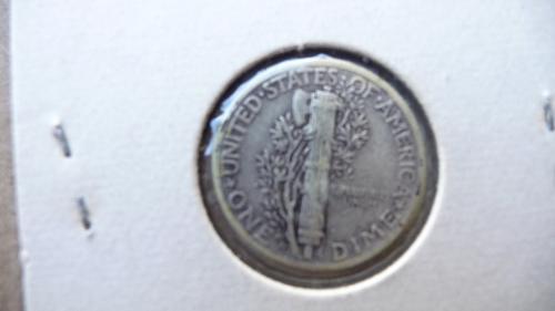 1945-D Mercury Dime