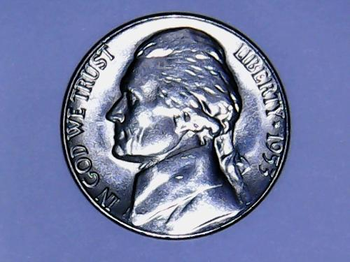 1953 S Jefferson Nickel    See Pictures