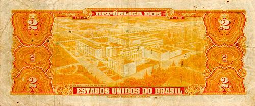 1954 - 1958 BRASIL TWO CROZEIROS