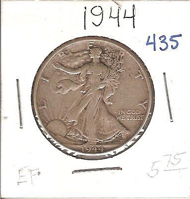 1944 Walking Liberty Half