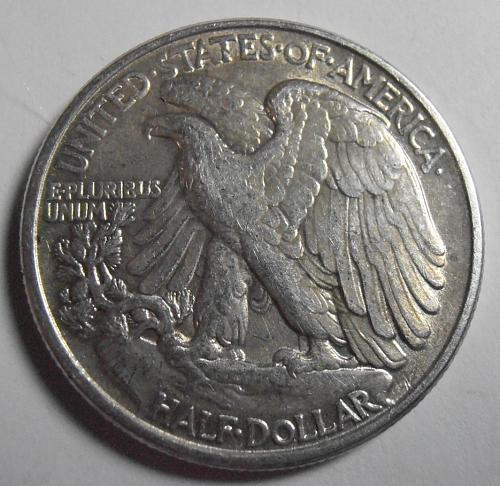 1942 P Walking Liberty Half Dollar (42PAC7)