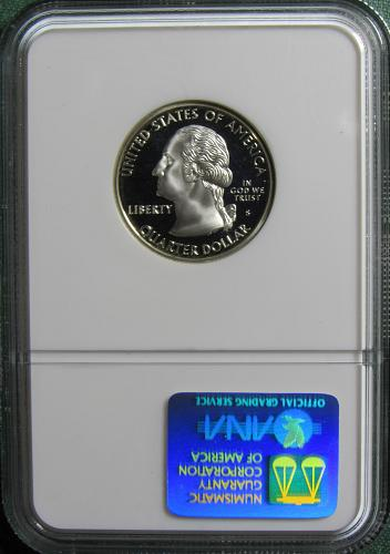 1999S CT 50 States and Territories Quarter: Silver Proof
