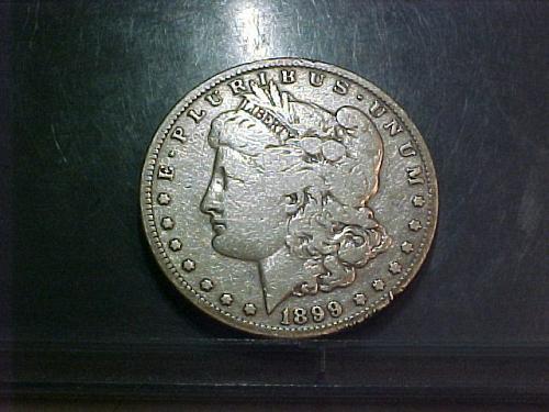 1899 S Morgan Dollar      aa87