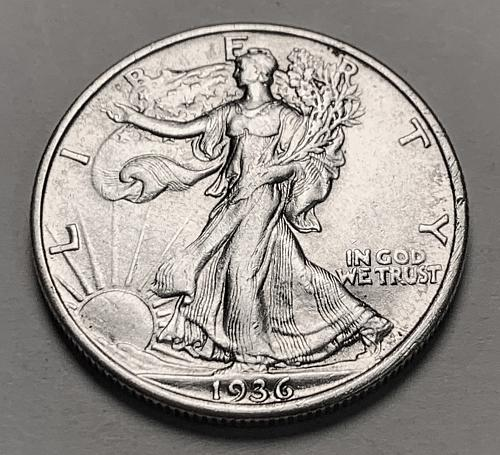 1936 Walking Liberty Half Dollar XF [WL 198]