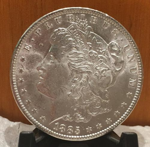 1885-O MORGAN DOLLAR UNCIRCULATED SILVER New Uncirculated fresh out the roll!