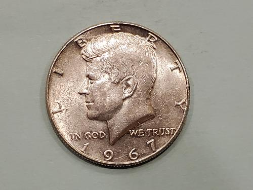 1967 JFK Half Dollar