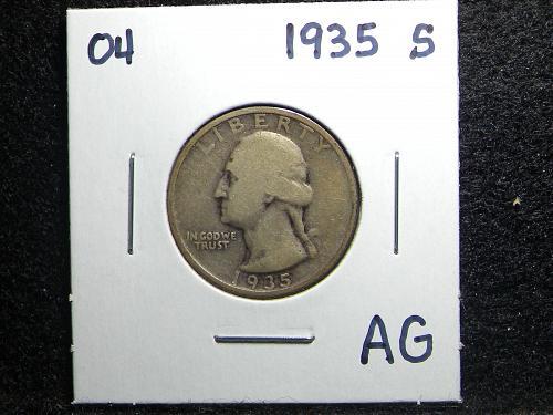 1935 S Washington Quarter