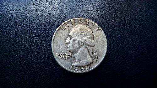1959 Washington Quarter