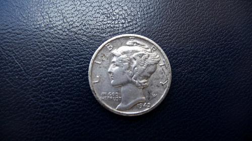 1942-S Mercury Dime