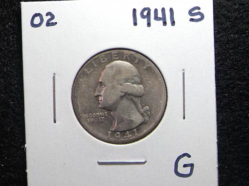 1941 S Washington Quarter