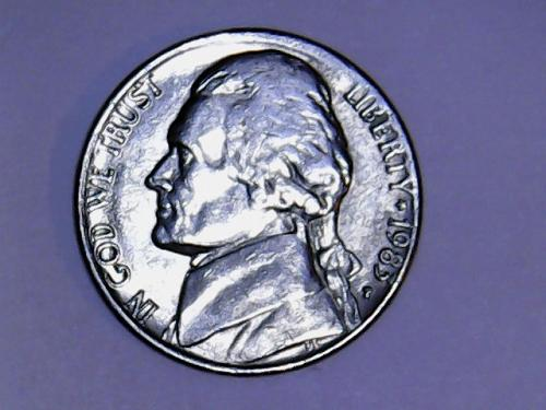 1983 P Jefferson Nickel  *SEE PICTURE*