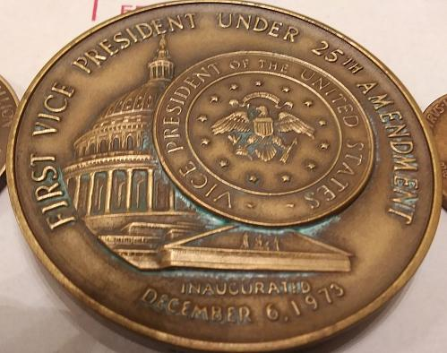 1973 Gerald Ford Inauguration Medal & 2 other medals